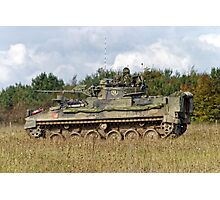 A British Army Warrior Infantry Fighting Vehicle Photographic Print