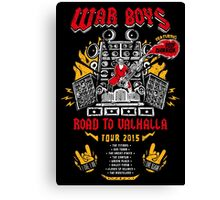 Road to Valhalla Tour Canvas Print