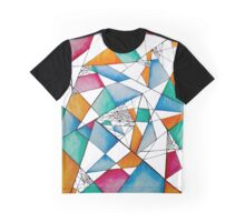 Abstract Colorful Graphic T-Shirt