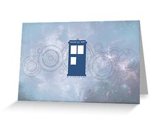Doctor Who - All of Time and Space Greeting Card