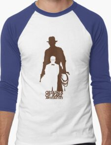 Obtainer of Rare Antiquities Men's Baseball ¾ T-Shirt