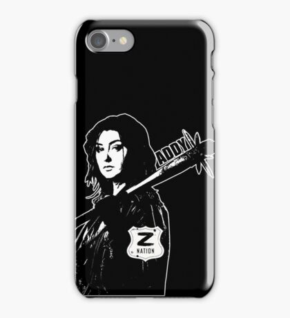 Z Nation: Addy  iPhone Case/Skin