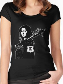 Z Nation: Addy  Women's Fitted Scoop T-Shirt