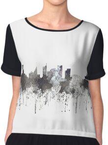 Sydney, New South Wales, Australia Skyline - CRISP Chiffon Top
