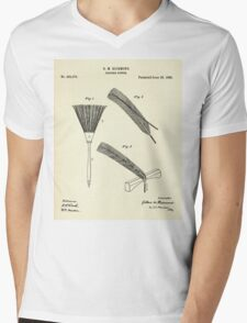 Feather Duster-1888 Mens V-Neck T-Shirt