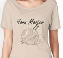 Yarn Master Knitting Women's Relaxed Fit T-Shirt