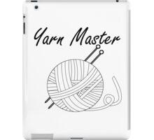 Yarn Master Knitting iPad Case/Skin