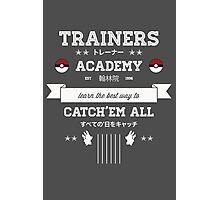 Trainers Academy Photographic Print
