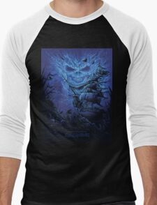 IRON MAIDEN GHOST OF THE NAVIGATOR Men's Baseball ¾ T-Shirt