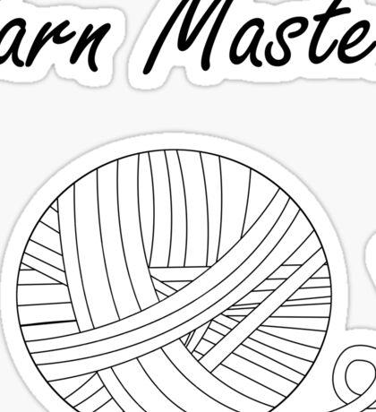 Yarn Master (Yarn) Sticker