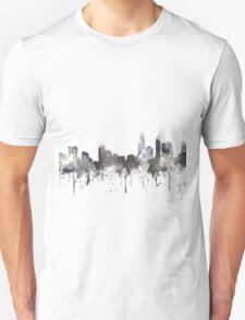 Perth, Western Australia Skyline - CRISP Unisex T-Shirt