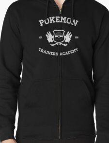 Pokemon Trainers Academy Zipped Hoodie