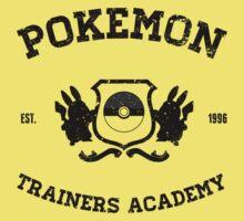 Pokemon Trainers Academy  Kids Tee