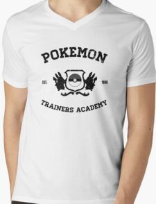 Pokemon Trainers Academy  Mens V-Neck T-Shirt