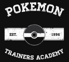 Pokemon Trainers Academy One Piece - Long Sleeve