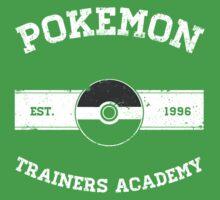 Pokemon Trainers Academy One Piece - Short Sleeve
