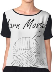 Yarn Master (Crochet) Women's Chiffon Top