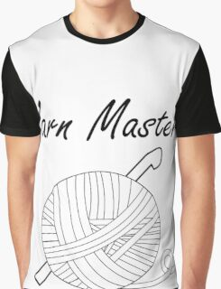 Yarn Master (Crochet) Graphic T-Shirt