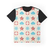 Nautical Elements Graphic T-Shirt