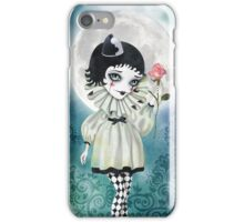 Pierrette Under the Icy Moon iPhone Case/Skin