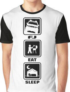 FJ EAT SLEEP Graphic T-Shirt