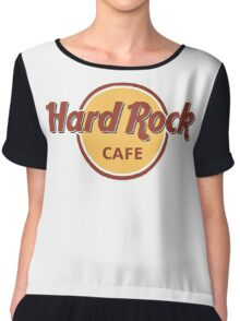 Hard Rock Cafe Chiffon Top