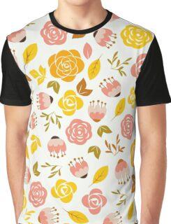 Happy Floral Graphic T-Shirt