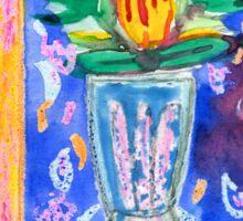 Protea with blue Sticker