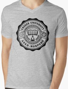 Invisible University Mens V-Neck T-Shirt