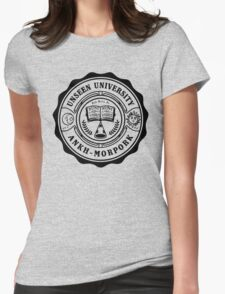 Invisible University Womens Fitted T-Shirt