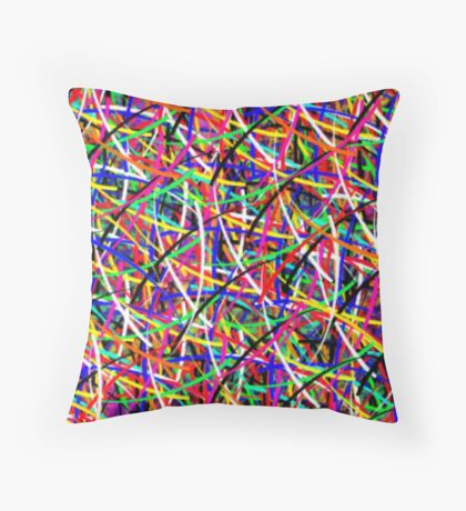 abstract painting 11 Throw Pillow