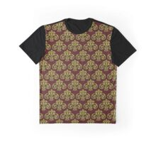 Showland Scroll - red pattern Graphic T-Shirt