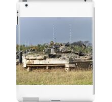 British Army Warrior Infantry Fighting Vehicle iPad Case/Skin
