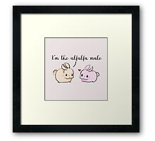 Alfalfa Male Framed Print