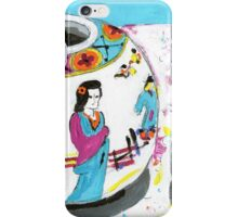Girl and Dragon iPhone Case/Skin