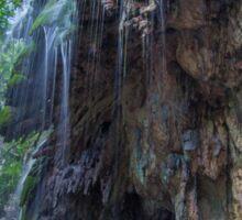 Serenity at Hugh's Dale Waterfall Sticker