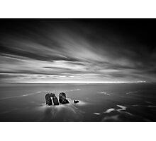 Solitary Conversation Photographic Print