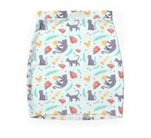 The Curious Cat Mini Skirt