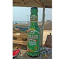 Fantasy Coffin from Ghana, Club Beer for dead drinker Photographic Print