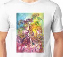 ARLECCHINA  VIOLINIST / Venetian Carnival Night Unisex T-Shirt