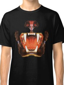 roaring mouth of the beast, in colors suitable Classic T-Shirt