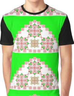 Trendy Triangles Graphic T-Shirt