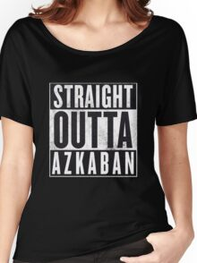 Straight Outta Azkaban Women's Relaxed Fit T-Shirt