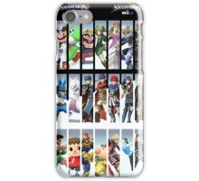 Super Smash Bros. For Nintendo 3DS/ Wii U Poster iPhone Case/Skin