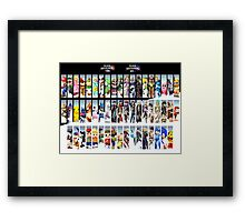 Super Smash Bros. For Nintendo 3DS/ Wii U Poster Framed Print