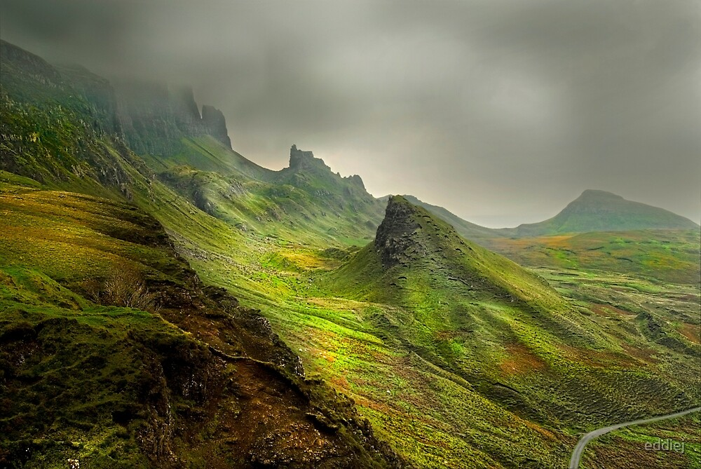 The Quiraing - Isle Of Skye by eddiej