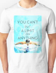Swimming with no limits Unisex T-Shirt