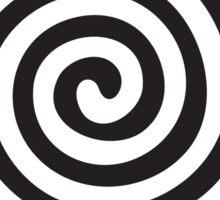 The eye bender rough spiral Sticker