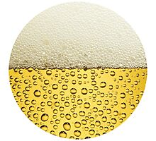 Beer - circle Photographic Print