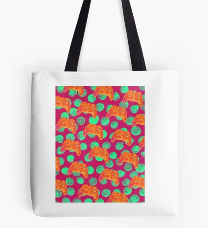 X Box Pop art Print Tote Bag